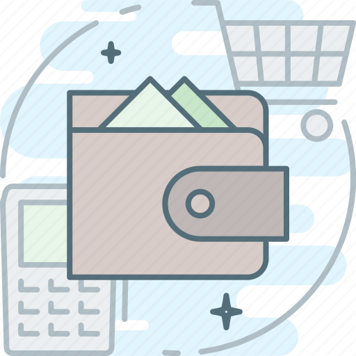 buy, cash, money, payment, purchase, purse, wallet icon