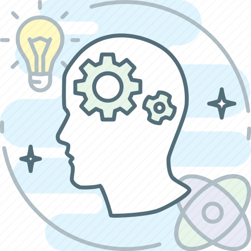 brainstorm, bulb, creative, idea, proactive, science, think icon