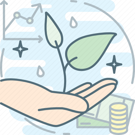 business, ecology, grow, mvp, plant, sprout, startup icon