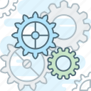 cog, gear, gears, mechanism, settings