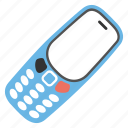 communicating device, cell phone, handset, mobile phone, telephone icon