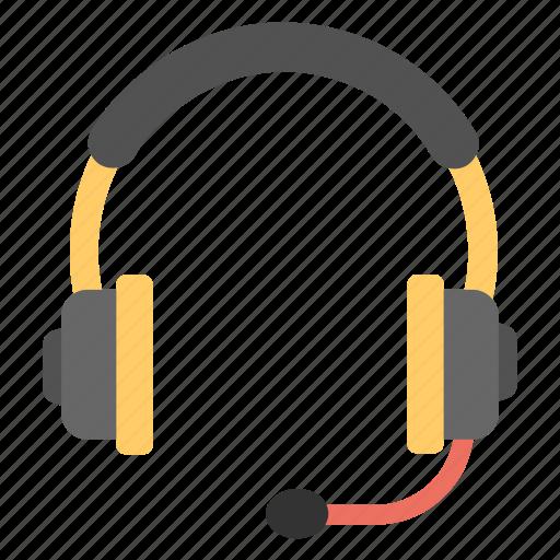 communication device, computer gadget, earphone, headphone, headset icon