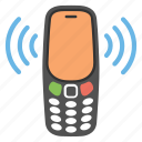 mobile network, mobile sounds, phone incoming call, mobile communication, telecommunication icon