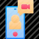 call, communication, handphone, mobile, video
