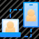 call, communication, handphone, laptop, mobile, video