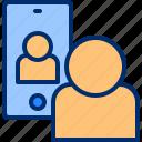 call, communication, facetime, handphone, mobile, video