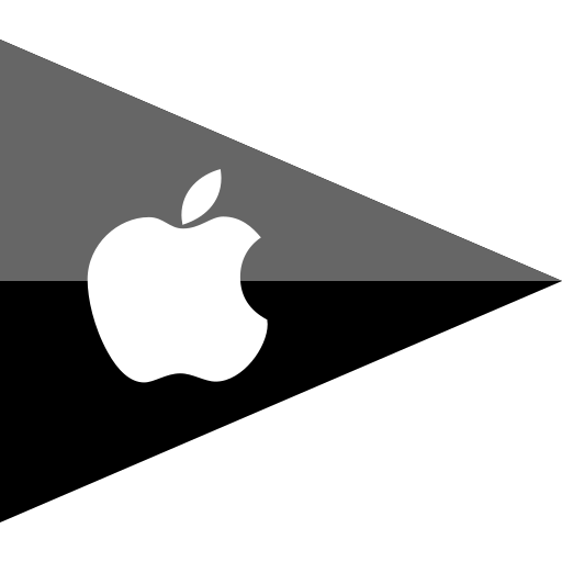 apple, brand, company, flag, logo, media, social icon