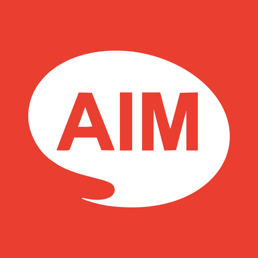 aim, communication, creative, goal, marketing, talk, target icon