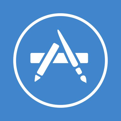 app store, apple, appstore, jobs, market, shop, steve icon