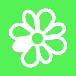 icq, messenger icon