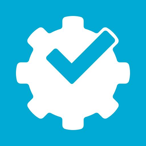 foursquare, powered, social media icon