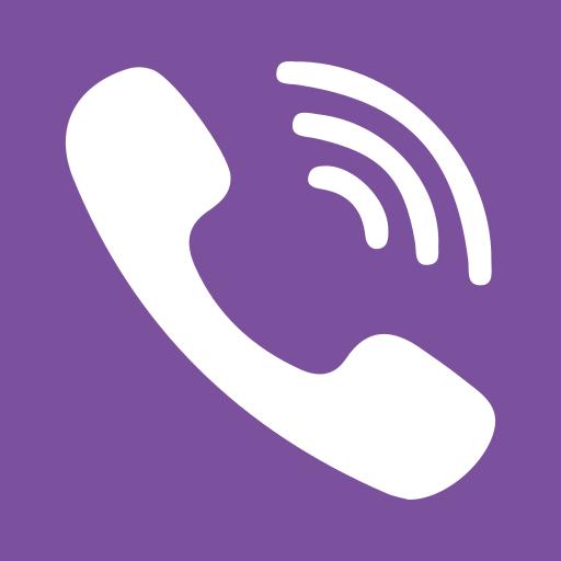 application, calls, internet, phone, smartphone, viber, voip icon