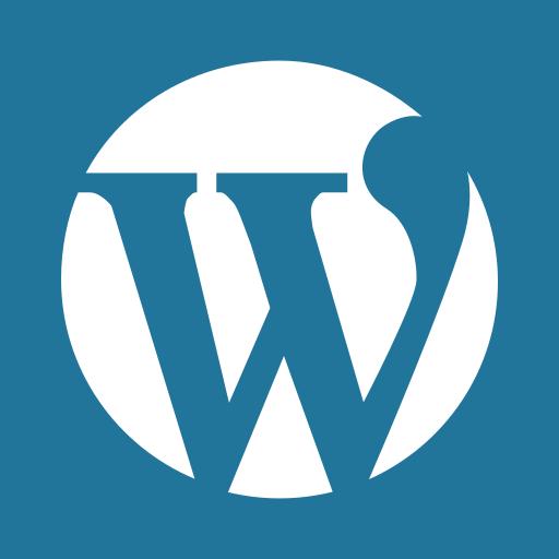 press, social media, word, wordpress icon