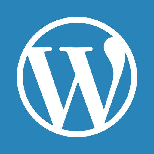 blogging, content, management, platform, press, system, word, wordpress icon