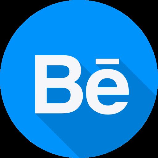 behance, brand, logo, social, social network, website icon