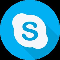 brand, logo, skype, social, social network, website icon