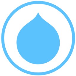 drupal, internet, web icon