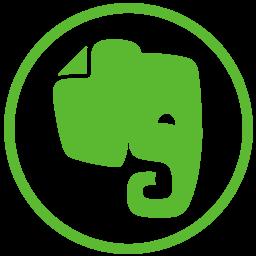 elephant, evernote, social icon