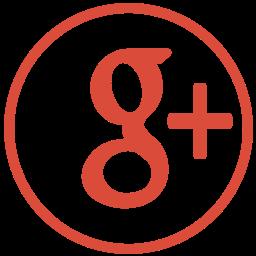 g, plus, social icon