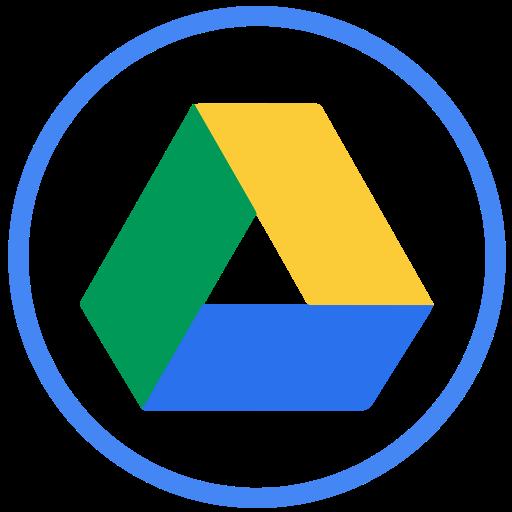 drive, gdrive, google icon
