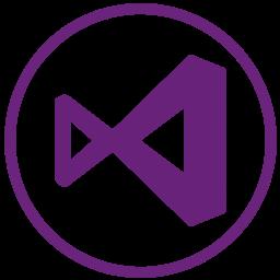 microsoft, visualstudio, webdevelop icon
