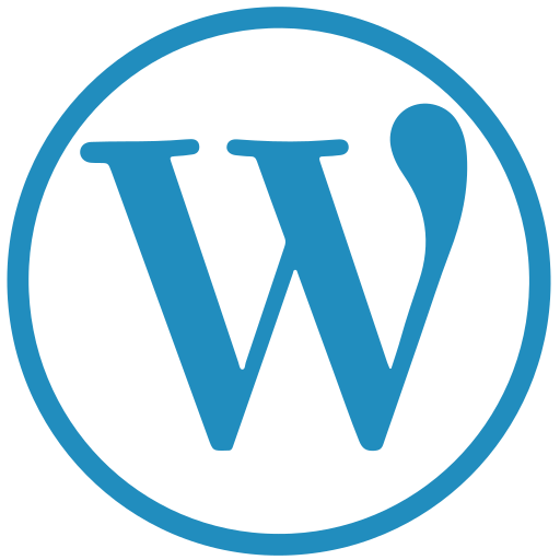 blog, wordpress, wp icon