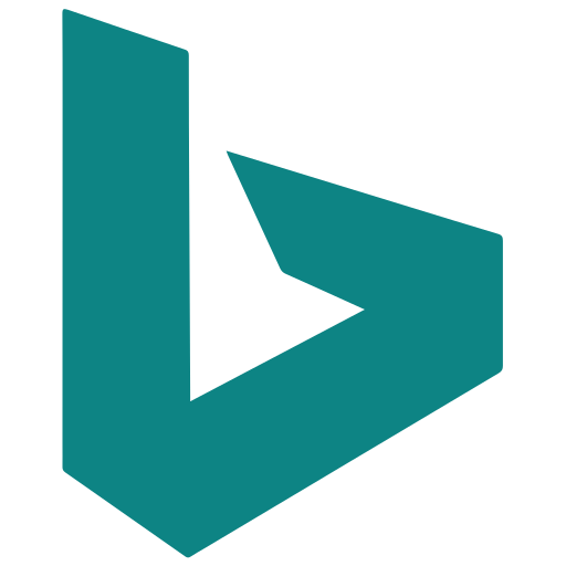 bing, search, seo, web icon