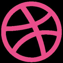 brand, dribbble, logo icon