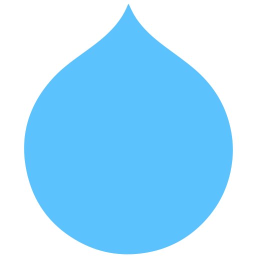 drupal, internet, technology icon