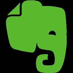 elephant, evernote, note icon