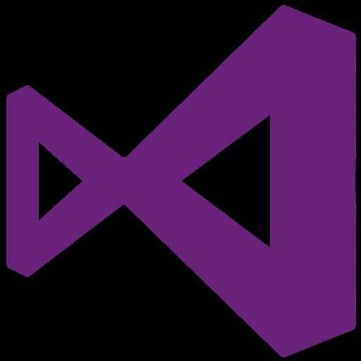 2012, 2015, microsoft, visualstudio icon
