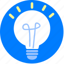 bulb, electronic, idea, light