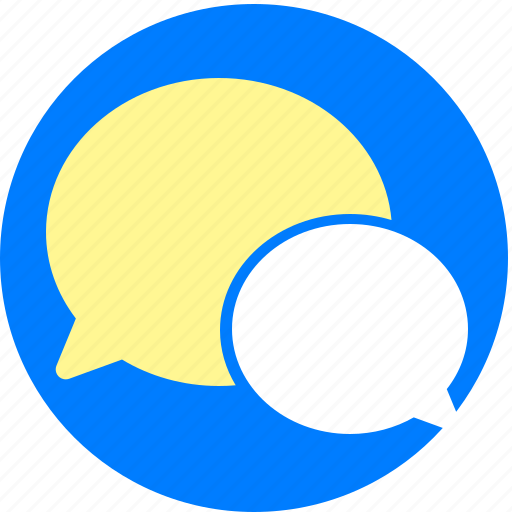 chat, chats, message, talk, wechat icon