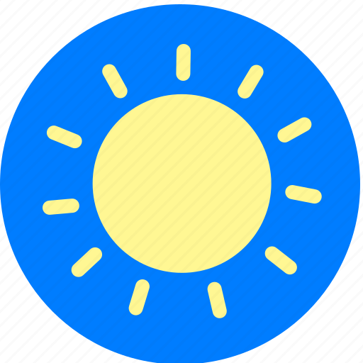 Bright, day, sun, sunny, sunshine, weather icon - Download on Iconfinder