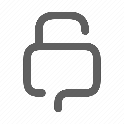lock, open, password, protection, secure, security icon