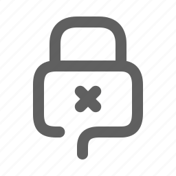 closed, lock, password, protection, secure, security icon