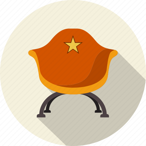 actor, armchair, business, chair, entertainment, manager icon