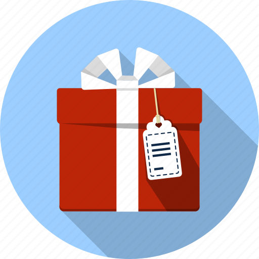 box, delivery, gift box, present, ribbon, shopping, tag icon