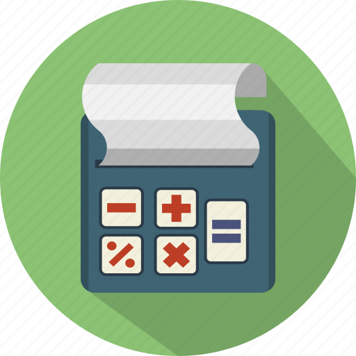 accounting, billing, business, calculator, finance, machine icon