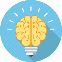 brain, bulb, business, creative, idea, mind, power icon