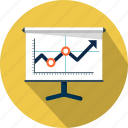 analysis, chart, diagram, graph, presentation, results, statistics icon