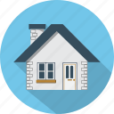 building, business, ecommerce, estate, house, office, real icon