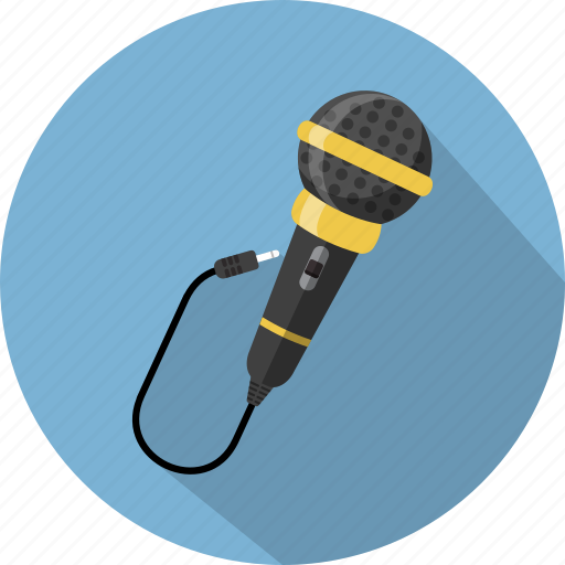 control, media, microphone, sound, speaker icon