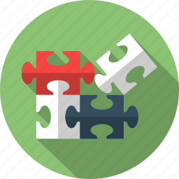 alliance, business, component, marketing, plugin, puzzle, solution icon