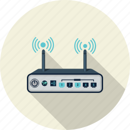 broadband, internet, network, router, server, technology, wireless icon