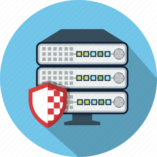 attacks, data, database, internet, network, security, server icon