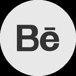 behance, media, online, portfolio, social icon