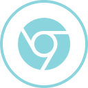 chrome, internet, logos, social icon