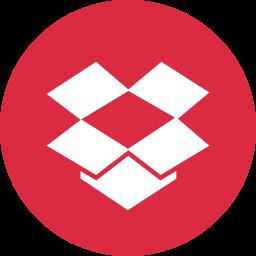 box, drop, dropbox, media, online, social icon