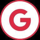 google, internet, logos, social icon